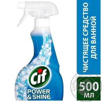 Средство Cif для очистки ванной 500мл - купить, цены на Novus - фото 2