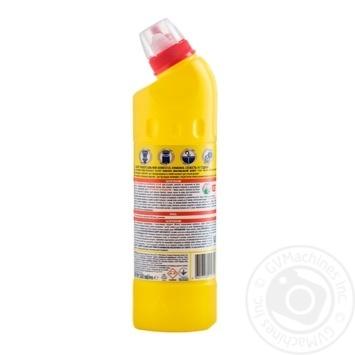 Чистящее и дезинфицирующее средство Domestos Двойная сила  Лимонная свежесть 500мл - купить, цены на Метро - фото 2