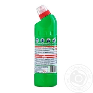 Domestos Двойная сила Чистящее и дезинфицирующее средство Хвойная свежесть 500мл - купить, цены на Novus - фото 3