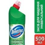 Domestos Двойная сила Чистящее и дезинфицирующее средство Хвойная свежесть 500мл - купить, цены на Novus - фото 2