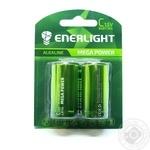 Батарейка ENERLIGHT MEGA POWER C BLI 2