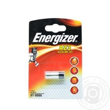 БАТАРЕЙКА ENERGIZER A23/E23A 1ШТ - купить, цены на Ашан - фото 1