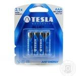 Батарейка AAА BLUE+ R03/1.5V  бл/4шт TESLA