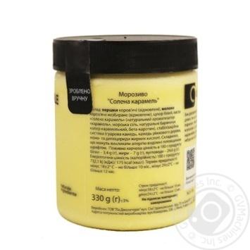 Морозиво La Gelateria italiana солена карамель 330г - купити, ціни на Метро - фото 2