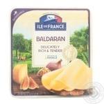 Сир ILE de France Балдаран напiвтвердий нарізка 7 скибочок 50% 150г
