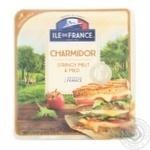 Сыр ILE de France Шармидор полутвердый нарезка 7 ломтиков 57% 150г