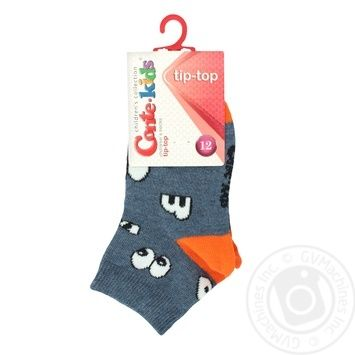 Носки хлопчатобумажные Conte-Kids tip-top детские 12р - купить, цены на Novus - фото 2