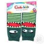 Шкарпетки дитячі Conte Kids веселі ніжки 17С-10СП, розмір 16, 336 темно-бірюзовий