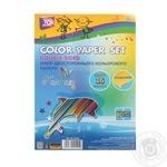 Набір кольорового паперу Cool for school 16 аркушів