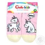 Носки Conte Kids Веселые Ножки детские светло-розовые 22р