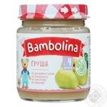 Puree Bambolina pear for children from 4 months 100g
