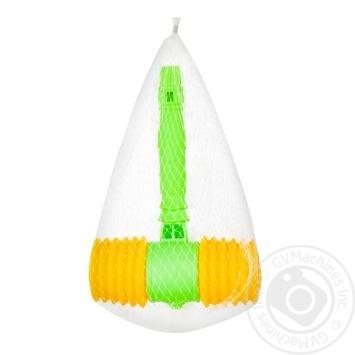 Молоток іграшковий Just Cool зі свистком - купити, ціни на CітіМаркет - фото 1