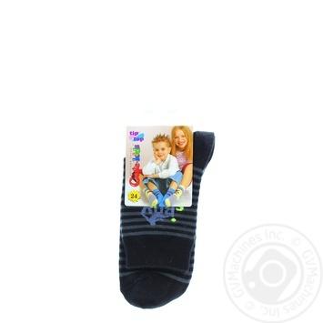 Шкарпетки Conte-kids Tip-Top дитячі чорні 24р