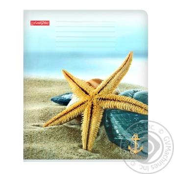 Notebook Tetrada lined 18pages Ukraine