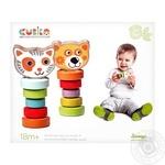 Набір деревяних іграшок Гнучкі тварини арт. 13630