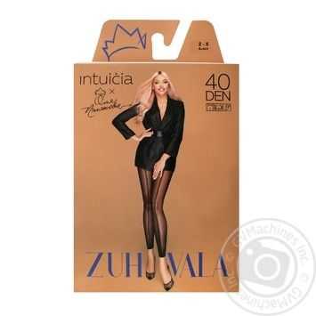 Леггинсы Intuicia Zuhvala №9 40den 2 черный