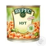 Vegetables chickpea Veres canned 400g can