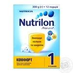 Mix milk Nutrilon Comfort milky dry for children 0-6 months 300g