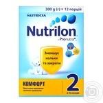 Nutrilon Comfort 2 for children 6-12 months dry milk mixture 300g - buy, prices for Novus - image 1