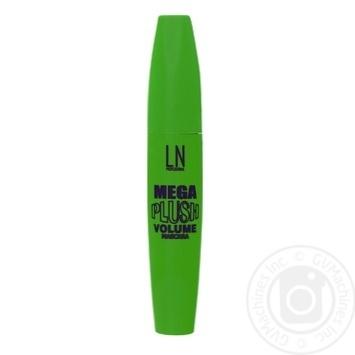 Тушь для ресниц LN Professional Mega Plush 10мл №01