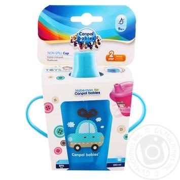 Поильник Canpol babies синий 250мл