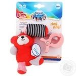 Canpol Babies Bears Soft Toy with Chime Rattle