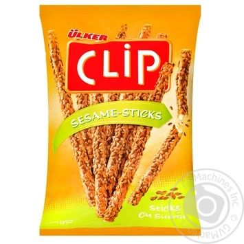 Соломка Ulker Clip с кунжутом 100г