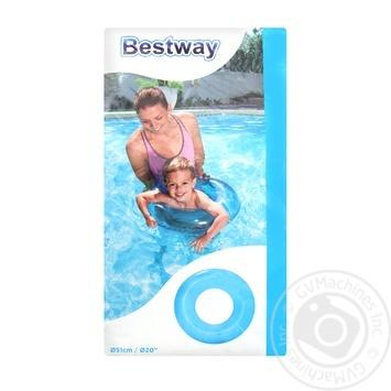 Круг Bestway прозрачный для девочек - купить, цены на МегаМаркет - фото 1