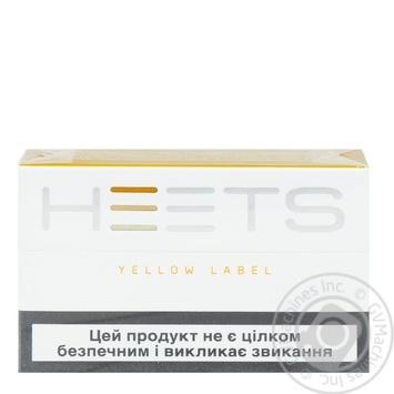 Стіки Heets Yellow Label 0,008г*20шт