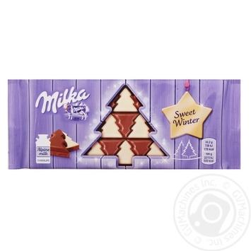 Chocolate milky Milka bars 100g - buy, prices for MegaMarket - image 1