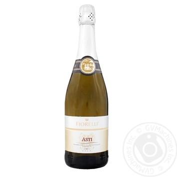 Вино игристое Fiorelli Asti белое сладкое 7% 0,75л