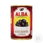Маслины Alba Food с косточкой 300мл