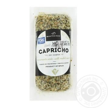 Сыр козий Montesinos Capricho de Cabra мягкий с перцем 45% 145г - купить, цены на Novus - фото 1