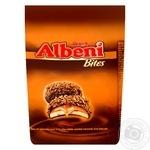 Печенье Ulker Albeni Bites с молочно-шоколадной глазурью и карамельной начинкой 144г