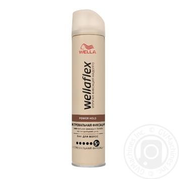Лак для волос WELLAFLEX экстремальной фиксации 250мл