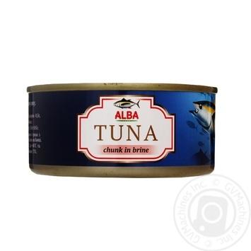 Тунец Alba целый в собственном соку 150г - купить, цены на Novus - фото 1
