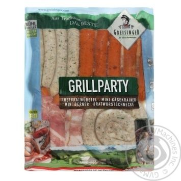 Сосиски Greisinger Grill Party 450г