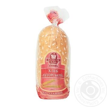 Хліб Катеринославхліб Хуторський нарізаний 550г - купити, ціни на Varus - фото 1