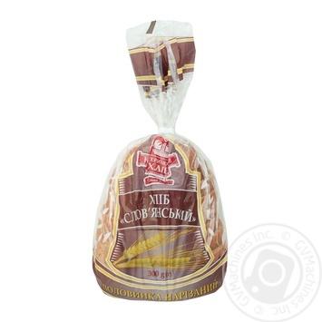 Хлеб Катеринославхлеб Славянский нарезной половинка 300г - купить, цены на Varus - фото 1