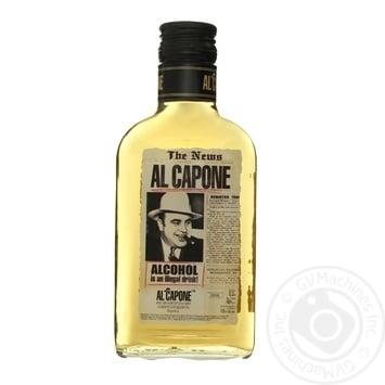 Напиток алкогольный Al Capone односолодовый 40% 0,2л - купить, цены на Фуршет - фото 1
