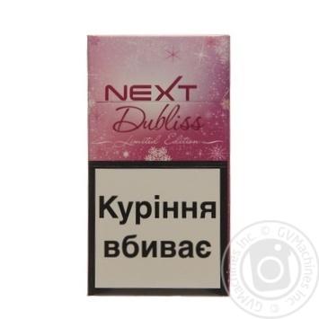 Сигареты Next Dubliss Rose 20шт - купить, цены на Novus - фото 1