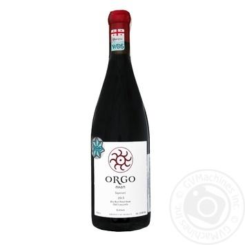 Orgo Saperavi red dry wine 13,5% 0,75l - buy, prices for Novus - image 1