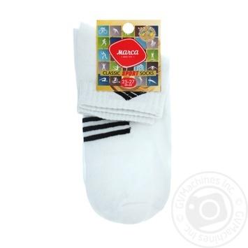 Шкарпетки Marca Premium чоловічі подвійний борт 25-27р - купити, ціни на Ашан - фото 3