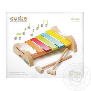 Игрушка Левеня ксилофон 12619 - купить, цены на Фуршет - фото 1