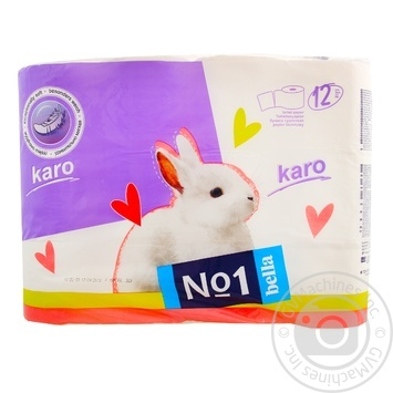 Toilet paper Karo white 12pcs - buy, prices for Novus - image 5
