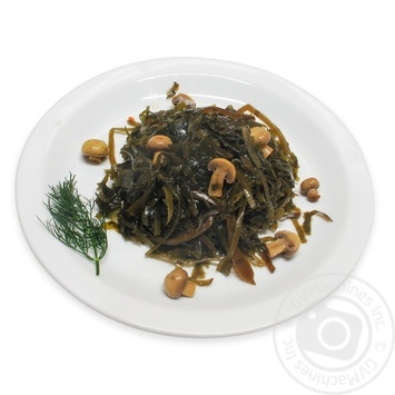 Seaweed with Champignons