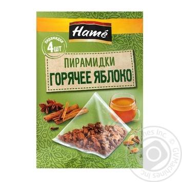 Суміш прянощів Гаряче яблуко Hame в пакетиках-пірамідках 4х5г 20г - купити, ціни на Novus - фото 3