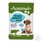 Leopold Dog Food with Veal 100g