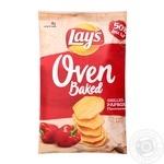 Чіпси Lays Запечені паприка 125г