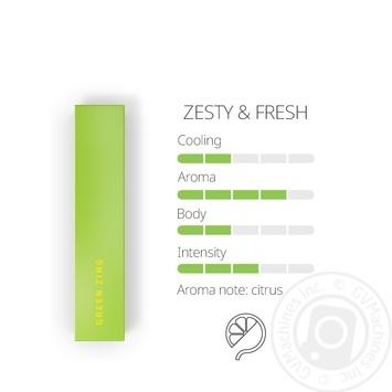 Тютновий виріб Heets Green Zing - купити, ціни на Novus - фото 2